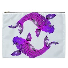 Koi Carp Fish Water Japanese Pond Cosmetic Bag (XXL)