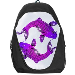 Koi Carp Fish Water Japanese Pond Backpack Bag