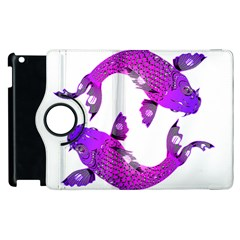 Koi Carp Fish Water Japanese Pond Apple iPad 3/4 Flip 360 Case