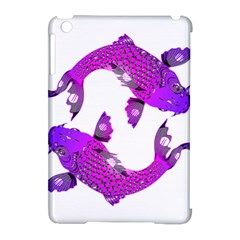 Koi Carp Fish Water Japanese Pond Apple iPad Mini Hardshell Case (Compatible with Smart Cover)