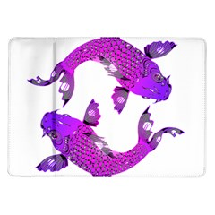 Koi Carp Fish Water Japanese Pond Samsung Galaxy Tab 10.1  P7500 Flip Case