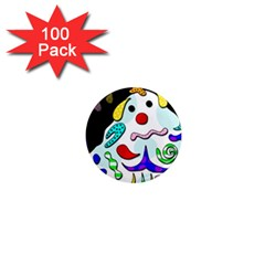 Candy man` 1  Mini Magnets (100 pack)
