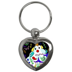 Candy man` Key Chains (Heart)