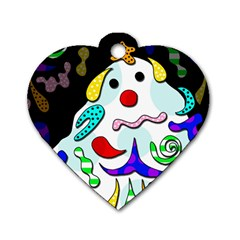 Candy man` Dog Tag Heart (One Side)