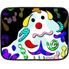 Candy man` Double Sided Fleece Blanket (Mini)