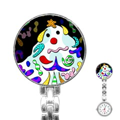 Candy man` Stainless Steel Nurses Watch