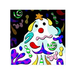 Candy man` Small Satin Scarf (Square)