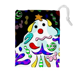 Candy man` Drawstring Pouches (Extra Large)