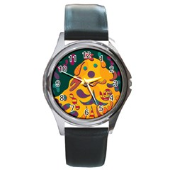 Candy man 2 Round Metal Watch