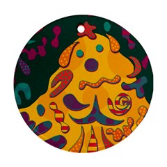 Candy man 2 Ornament (Round)