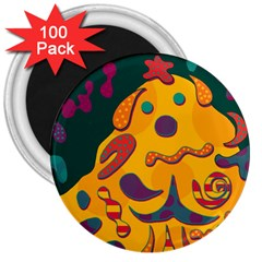Candy man 2 3  Magnets (100 pack)