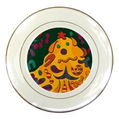 Candy man 2 Porcelain Plates