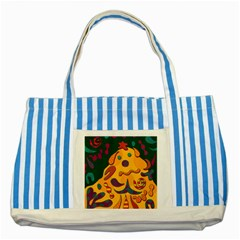 Candy man 2 Striped Blue Tote Bag