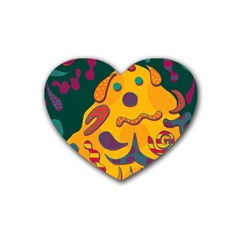 Candy man 2 Heart Coaster (4 pack)