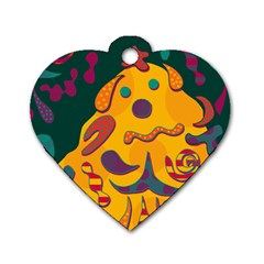 Candy man 2 Dog Tag Heart (One Side)