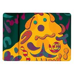 Candy man 2 Samsung Galaxy Tab 10.1  P7500 Flip Case