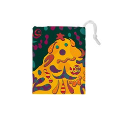 Candy man 2 Drawstring Pouches (Small)