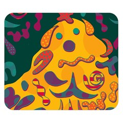 Candy man 2 Double Sided Flano Blanket (Small)