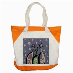 Cats Accent Tote Bag