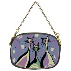 Cats Chain Purses (One Side)