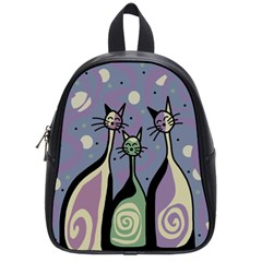 Cats School Bags (Small)