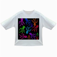 Colorful octopuses pattern Infant/Toddler T-Shirts