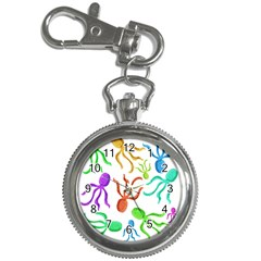 Octopuses pattern Key Chain Watches