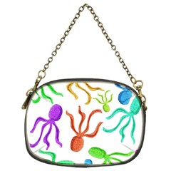 Octopuses pattern Chain Purses (Two Sides)