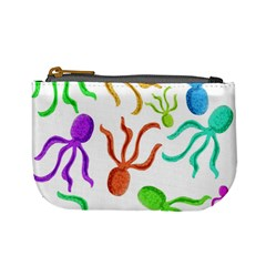 Octopuses pattern Mini Coin Purses