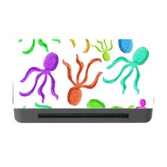 Octopuses pattern Memory Card Reader with CF