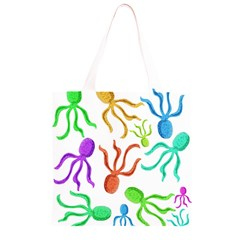 Octopuses pattern Grocery Light Tote Bag