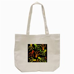 Octopuses pattern 2 Tote Bag (Cream)