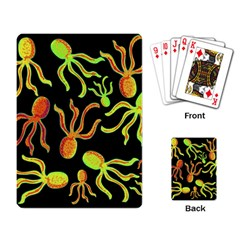Octopuses pattern 2 Playing Card