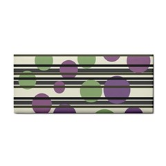 Purple and green elegant pattern Cosmetic Storage Cases