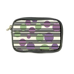 Purple and green elegant pattern Coin Purse