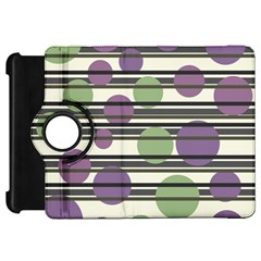 Purple and green elegant pattern Kindle Fire HD 7