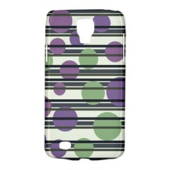 Purple and green elegant pattern Galaxy S4 Active