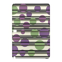Purple and green elegant pattern Samsung Galaxy Tab Pro 10.1 Hardshell Case