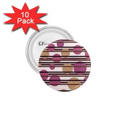 Simple decorative pattern 1.75  Buttons (10 pack)