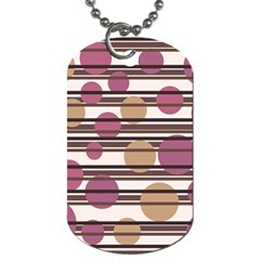 Simple decorative pattern Dog Tag (One Side)