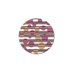 Simple decorative pattern Golf Ball Marker (4 pack)