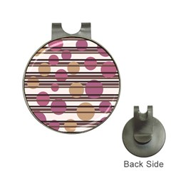 Simple decorative pattern Hat Clips with Golf Markers