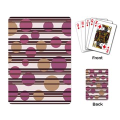 Simple decorative pattern Playing Card