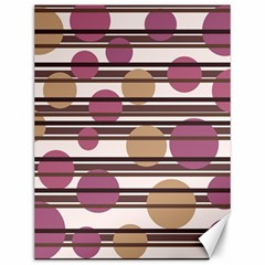 Simple decorative pattern Canvas 12  x 16