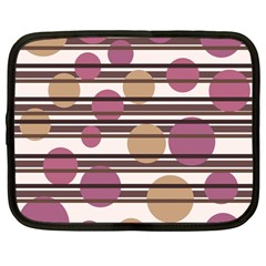 Simple decorative pattern Netbook Case (Large)
