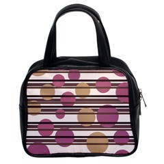 Simple decorative pattern Classic Handbags (2 Sides)