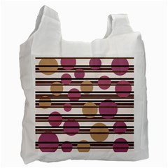 Simple decorative pattern Recycle Bag (Two Side)