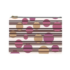 Simple decorative pattern Cosmetic Bag (Large)