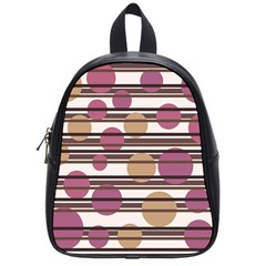 Simple decorative pattern School Bags (Small)