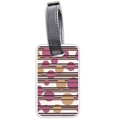Simple decorative pattern Luggage Tags (Two Sides)